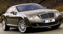 Bentley Continental Rubber Car Mats