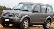 Land Rover Discovery Rubber Car Mats