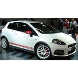 Abarth Grande Punto Rubber Car Mats