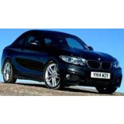 BMW 2 Series Rubber Car Mats