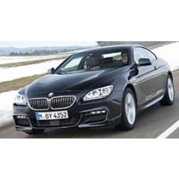 BMW 6 Series Rubber Car Mats