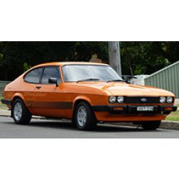 Ford Capri Rubber Car Mats
