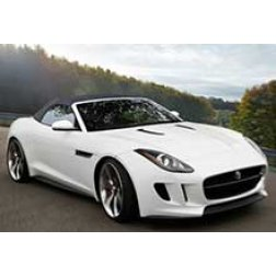 Jaguar F Type Rubber Car Mats
