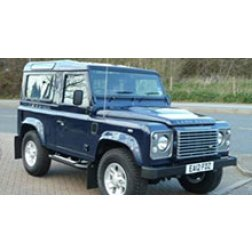 Land Rover Defender Rubber Car Mats